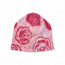 Knitted Hat Long Beanie Slouch Beanie Pink Red Ros