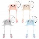 Wackelohr Mütze Kaninchenmütze, Anime, Cartoon Loo