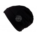 wholesale Headgear: Beanie Long Beanie, Slouch black