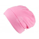 Cappello a maglia Long Beanie, Slouch rosa