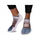 Motif sock monkey baby