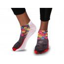 Großhandel Süßigkeiten: Motiv Socken Kaugummi Automat multicolor