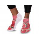 Großhandel Strümpfe & Socken: Motiv - Socken Wassermelone