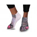 Motif socks Cat Space