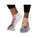 wholesale Stockings & Socks: Motif socks dog Multicolor