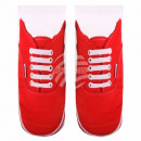 wholesale Stockings & Socks: Scene Socks Shoes white red