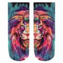 wholesale Fashion & Mode: Motif socks lion multicolor