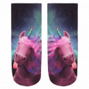 wholesale Fashion & Apparel: Motif socks Unicorn multicolor