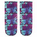 ingrosso Collant e calze: Motif calzini del diamante multicolore