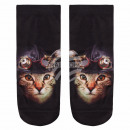 wholesale Toys: Scene Socks cat  with hood and black glasses be