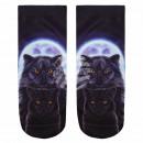 mayorista Ropa / Zapatos y Accesorios: Calcetines gato  negro escena en la luna llena y gr