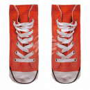 Motive socks red white shoes casual