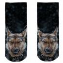 ingrosso Ingrosso Abbigliamento & Accessori: Motive calze nere bianche cane da pastore neve