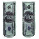 Großhandel Strümpfe & Socken: Motiv Socken weiß Geldschein USA