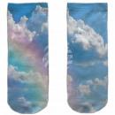 Motive socks multicolor sky rainbow