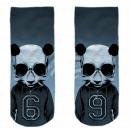 Motive socks gray white Hip Hop Panda