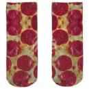 Motive socks multicolor salami pizza