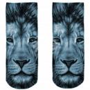 Motive socks multicolor lion