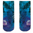 Motive socks multicolor space galaxies