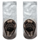 Motive socks white pug cool