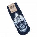 Motive socks multicolor hemp skull