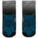 Motif socks multicolor owl