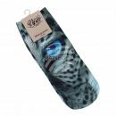 Motive socks multicolor leopard eye