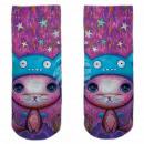 Motive socks multicolor cat cute