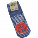 Motive socks anchor stripes maritime blue
