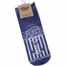 Motive socks anchor stripes waves maritime