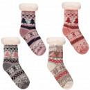 Ladies Christmas socks hut socks