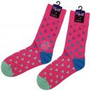 ingrosso Collant e calze: calzini Motif in  più frecce rosa lunghi