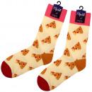 ingrosso Collant e calze: calzini Motif  particolarmente lunghi pizza beige