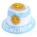 Sommerhut, Sommerhüte Fanhut Fanoutfit Argentinien