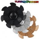 Turbo spinner Deluxe Sort by metal