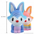 Squishy Squishies Rainbow Bunny color assorted