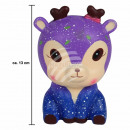 Squishy Squishies Reindeer Galaxy blue about 13 cm