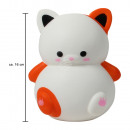 Squishy Squishies cat white about 16 cm