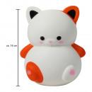 ingrosso Giocattoli: Squishy Squishies gatto bianco di circa 16 cm