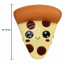 Squishy Squishies Pizza beige about 14 cm