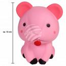 Squishy Squishies Muis roze ongeveer 13 cm