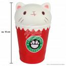 ingrosso Giocattoli: Squishy Squishies Cappuccino Cat rosso circa 15 cm