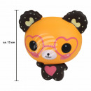 Squishy Squishies bear with heart glasses brown ap