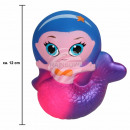 Squishy Squishies mermaid pink about 12 cm
