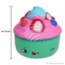 Squishy Squishies Cupcake verde di circa 12 cm