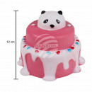 Squishy squishies pie with panda pink red blue