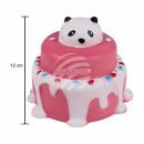 Squishy squishies taart met panda roze rood blauw