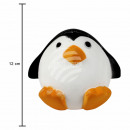 Squishy Squishies Penguin white orange black