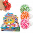 Squishy Mesh Squeeze Balls Gel Display 12 Pieces