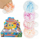 Squishy Mesh Squeeze Balls Glitter Star Display